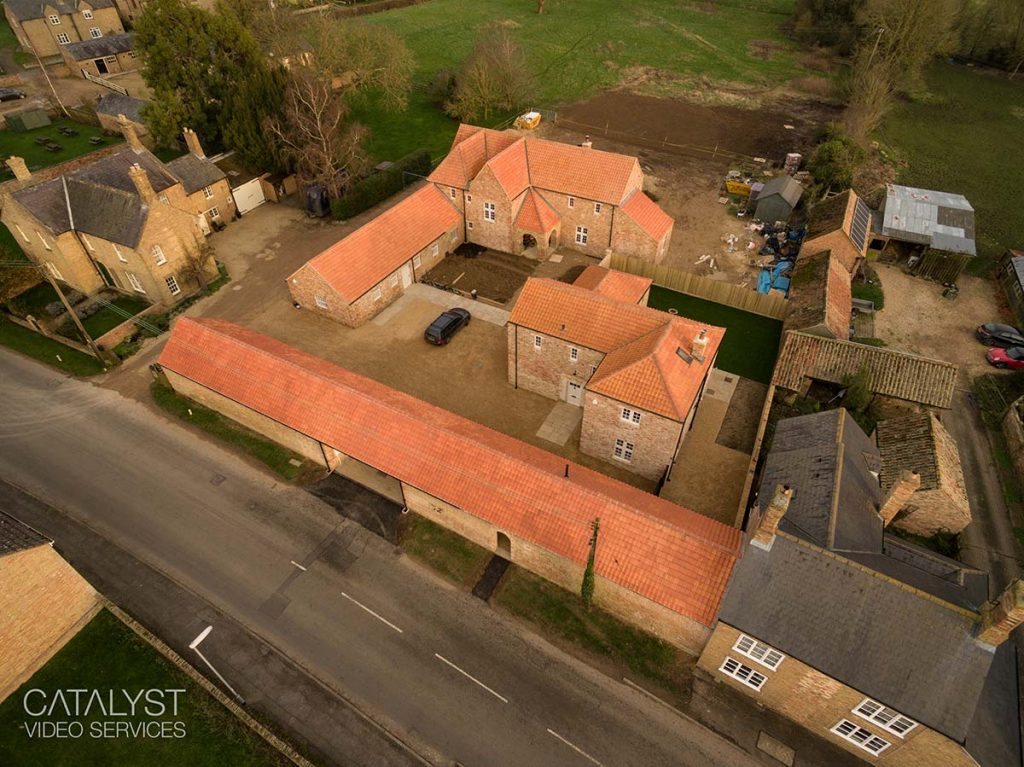Drone photography for Peterborough-based architects