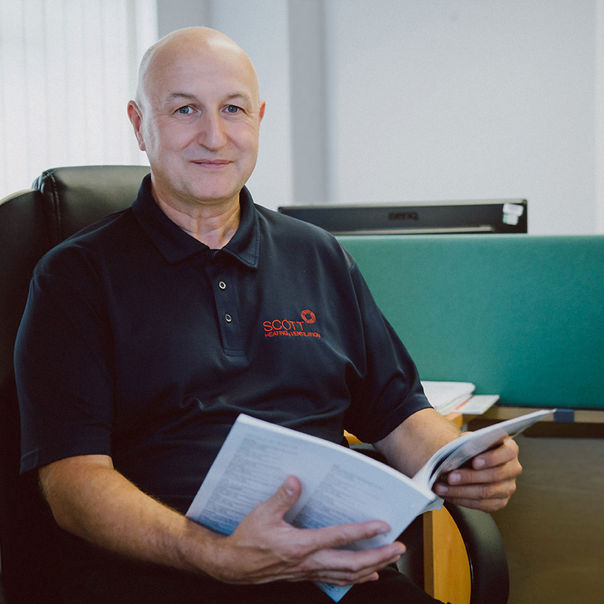 Corporate portrait photography for engineering firm